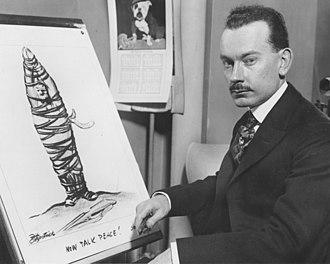 Daniel R. Fitzpatrick - Daniel R. Fitzpatrick of the St. Louis Post-Dispatch (1919)