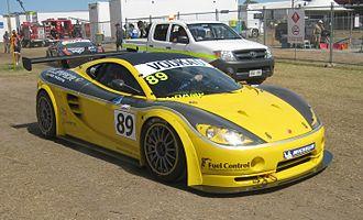 Ascari KZ1 - Image: Ascari KZ1 GT3 of Darren Berry