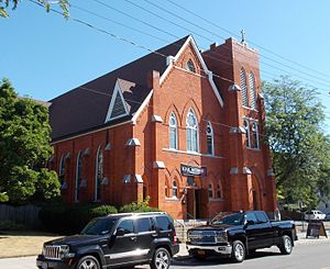 National Register of Historic Places listings in Niagara County, New York - Image: Ascension Roman Catholic Church Jul 16