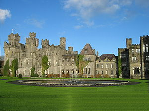 Photo of Ashford Castle from the southwest