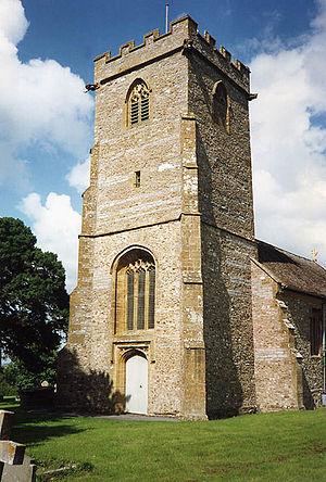 Ashill, Somerset - Image: Ashill church