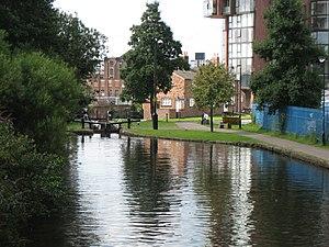 Ashton Canal - Image: Ashtoncanal 10