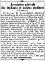 Association générale des étudiants et anciens étudiants de Clermont-Ferrand - Journal des débats - 22 juin 1941.jpg