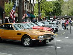 Aston Martin DBS V8 and Series II