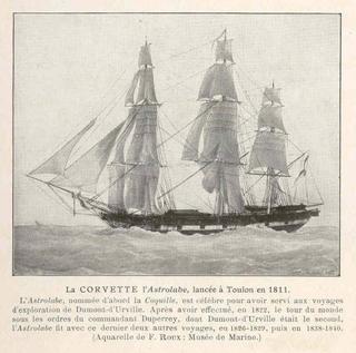 French ship <i>Astrolabe</i> (1811) French Ship