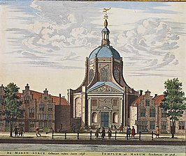 Marekerk in de Atlas de Wit, 1698
