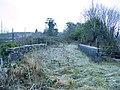 Atop the railway bridge in Llanpumsaint - geograph.org.uk - 1103189.jpg