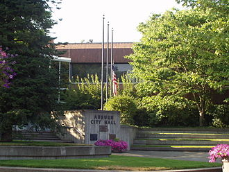 Auburn, Washington - Auburn City Hall, 2007.
