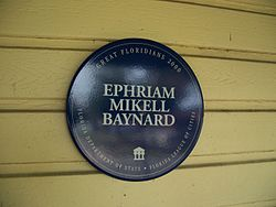 Photo of Ephriam Mikell Baynard blue plaque