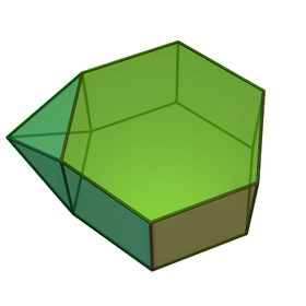 Image illustrative de l'article Prisme hexagonal augmenté