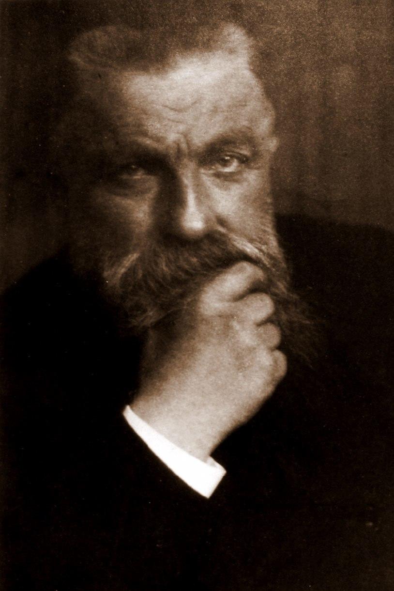 Auguste Rodin by Edward Steichen, 1902