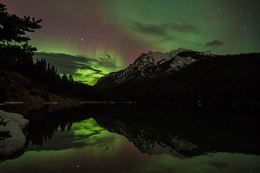 Aurora in Banff
