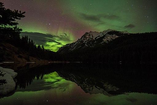 Aurora in Banff