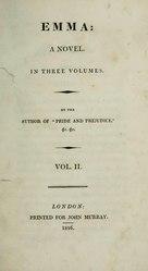Jane Austen: Emma: a novel
