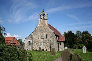 Austerfield - Image: Austerfield Saint Helen's Church