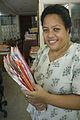 Australian Scholarship recipient ,Commissioner of Taxation Matereta Raiman. Kiribati 2007. Photo- Lorrie Graham (10674875085).jpg