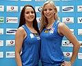 Austrian Olympic Team 2012 a Livia Lang, Nadine Brandl.jpg