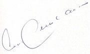 Autogramm Franz Beckenbauer
