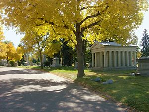 Fairmount Cemetery (Denver, Colorado) - Autumn in Fairmount Cemetery