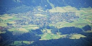 Axams Place in Tyrol, Austria