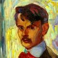 Axel Törneman Selfportrait detail 1905.png