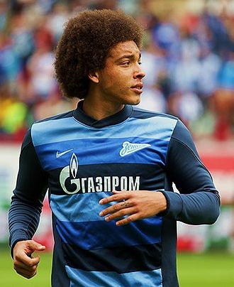 Axel Witsel - Witsel playing for Zenit Saint Petersburg in 2014