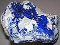 Azurite-kaolinite 1 (32878789928).jpg