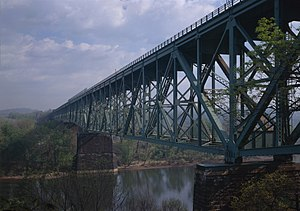 Bessemer & Lake Erie Railroad Bridge - Image: B&lerr