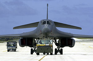 Andersen Air Force Base - A B-1B bomber at Andersen