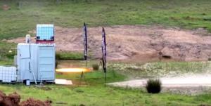 Gilmour Space Technologies - Ballistic Evaluation Motor (BEM) firing