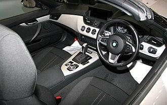 BMW Z4 (E89) - Interior