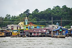 Skyline of Kampong Ayer