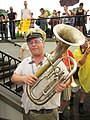 BP Oil Flood Protest NOLA Baritone Fleur.JPG