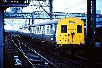 British Rail Class 506 - A Class 506 in 1982.