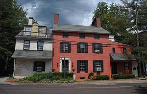 Bridgeton Township, Bucks County, Pennsylvania - House in Upper Black Eddy