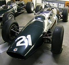 2ec3da2415 The four wheel-drive BRM P67 from the 1964 season