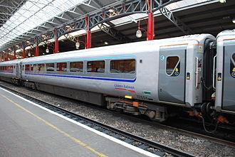 British Rail Mark 3 - Chiltern Railways Mark 3 with retrofitted plug doors at London Marylebone in August 2012