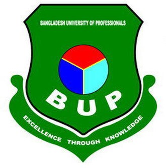 Bangladesh University of Professionals - Image: BUP logo