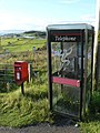 Back of Keppoch, phone and postbox - geograph.org.uk - 916166.jpg