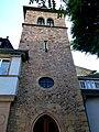 Bad Münster am Stein-Ebernburg – Turm der ehemaligen ev. St. Martinkirche (1562) - panoramio.jpg