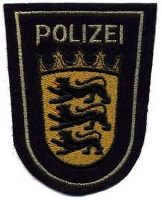 Baden-Württemberg Police - Image: Baden Württemberg Polizei WSP