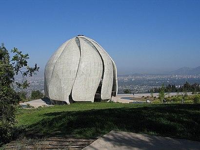 Cómo llegar a Templo Bahá'Í en transporte público - Sobre el lugar