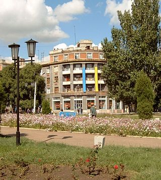 Bakhmut`s square of Liberty.jpg
