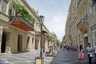Bids for the 2020 Summer Olympics - View of Nizami Street in Baku