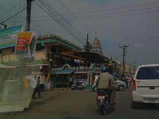 Balkampet neighbourhood in Hyderabad, Telangana, India