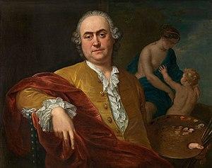Balthasar Beschey - Self-portrait