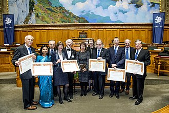 Balzan Prize - Balzan Prize 2017 ceremony in Bern.