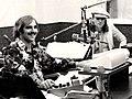 Banana Joe and John Lennon at WFIL radio, Philadelphia , 1975.jpg