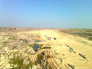 Banas River - Banas River near Kota, Rajasthan