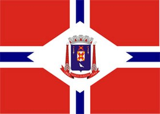 Franco da Rocha - Image: Bandeira Franco da Rocha